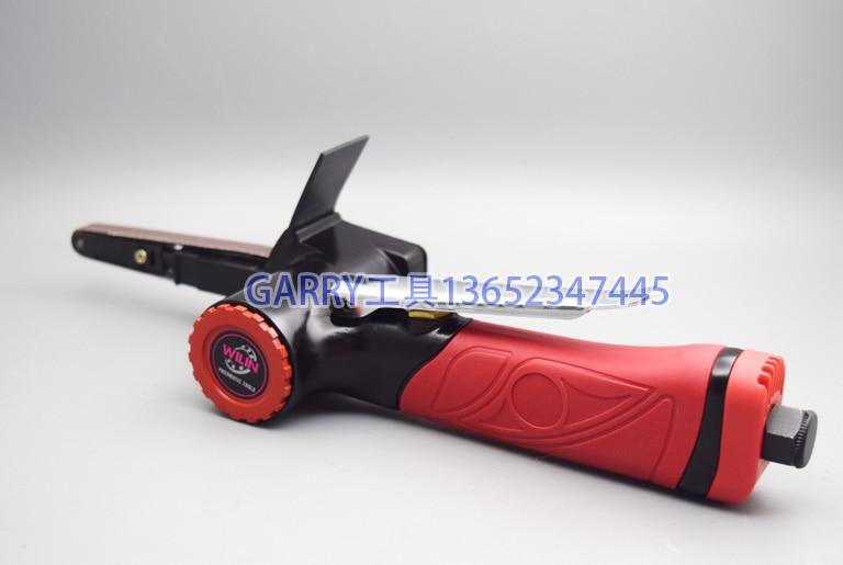 Pneumatique Outils Ceinture Polisseuse Machine Taiwan Wilin WL-382N 10mm * 330mm Air Ponceuse à bande 1/2 pouces 10mm
