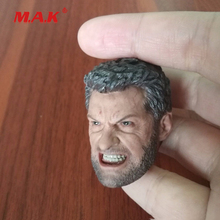 цена на New 1:6 Scale Wolverine Head Carving Model in Angry Version Head Sculpt fit 12