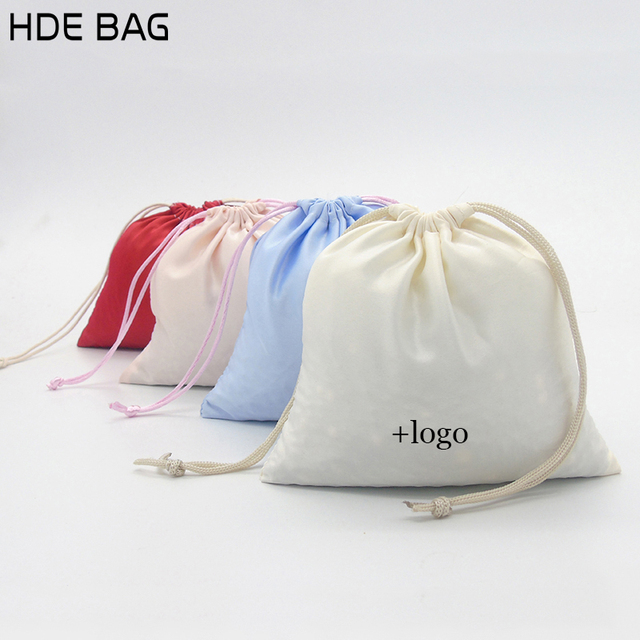 Satin Bag For Packaging Jewelry Makeup Gift Wedding Party Storage