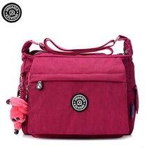Handbag Women Messenger Bags for Women Bag Waterproof Nylon Ladies Shoulder Crossbody Bags sac a main bolsa feminina