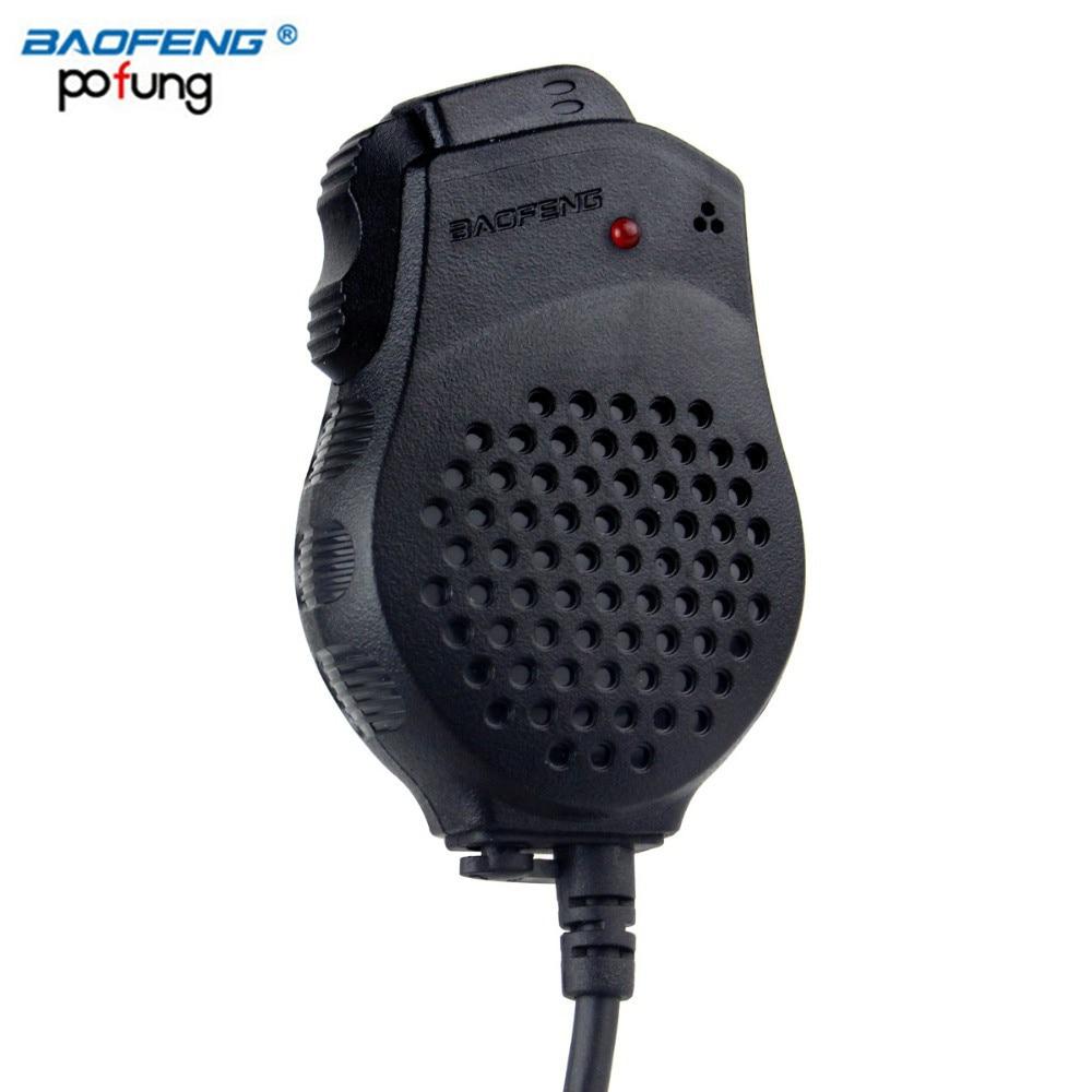 bilder für Baofeng lautsprecher-mikrofon dual-ptt für pofung cb tragbare Zweiwegradio UV-82 UV-82L UV-8 UV-8D UV-89 UV-82HX Walkie Talkie