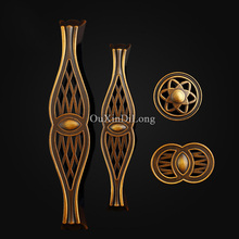10PCS European Antique Kitchen Door Furniture Handles Retro Vintage Cupboard Drawer Wardrobe Cabinet Pulls & Knobs