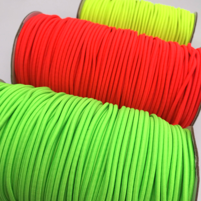 5yards 3mm Colorful Best-Quality Round Elastic Band Round Elastic Rope Rubber Band Elastic Line DIY Sewing Accessories