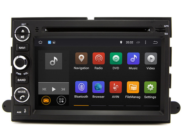 Android 7 1 Car Dvd Player Gps Navigation For Ford Fusion
