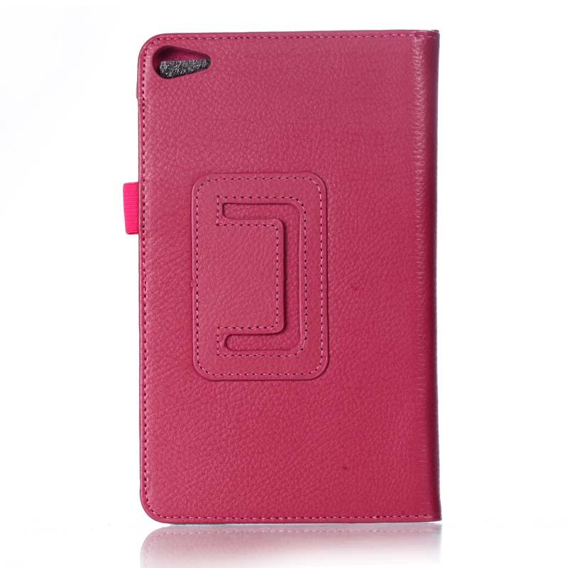 Ultra Slim 2-Folder Litchi Folio Stand PU Leather Skin Pouch Sleeve Case Cover For Huawei Mediapad T2 7.0 Pro PLE-703L PLE-701L