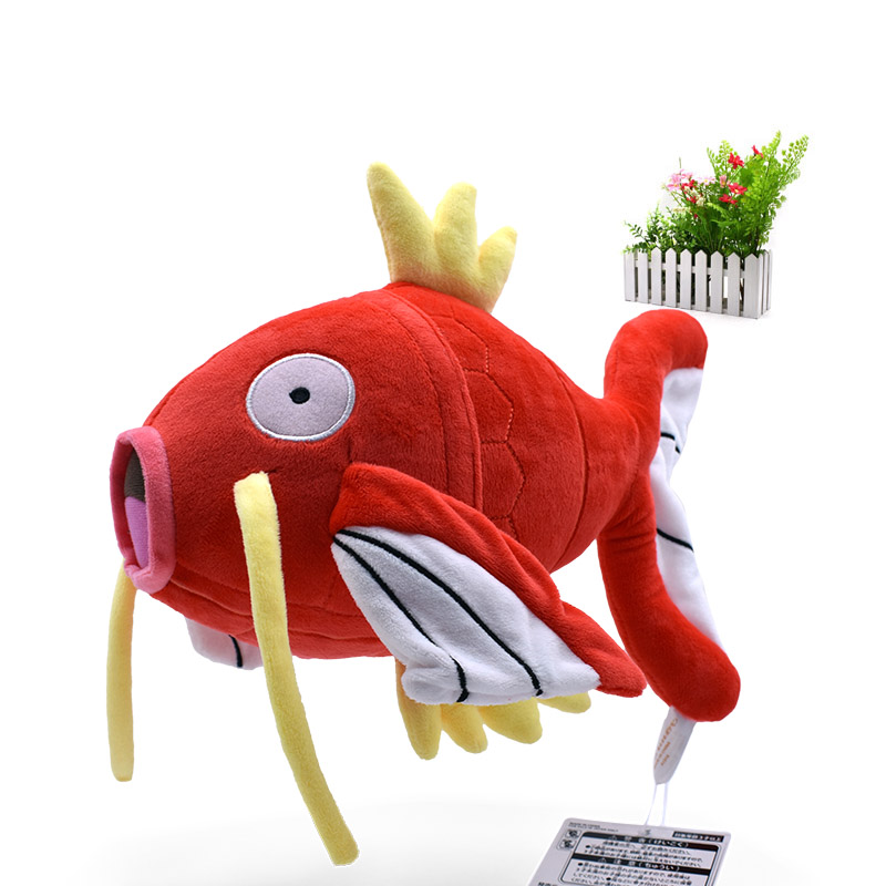 30 Cm Big Size Anime Magikarp Stuffed Plush Cartoon Peluche Dolls Christmas Gift Baby Toys For Children
