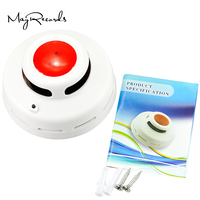 Free Shipping Cordless Stable Carbon Monoxide And Smoke Alarm High Sensitive CO Smoke Detector Fire Alarm