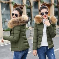 New Winter Jacket Women 2018 Long Outwear for Women Winter down jacket Female Warm Winter Coat Women Fake Silver Fox Fur Parkas