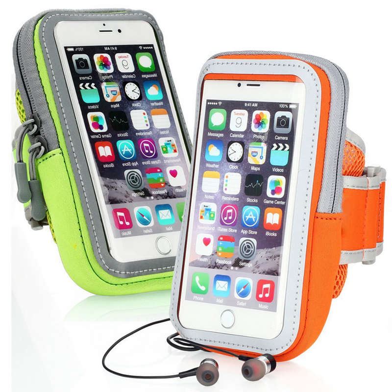 4.7 inch Mobile Phone Cases Sport Armband Arm Band Belt Cover Running GYM Bag Case For iPhone 5S 6 7 6S 4.7""