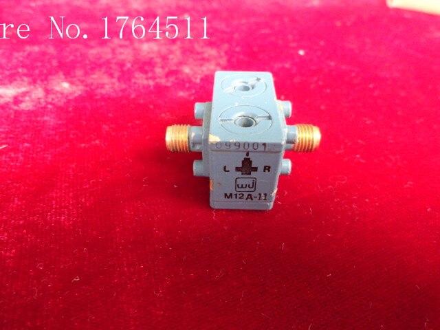 [BELLA] M/A-COM / WJ M12A-11 4-12GHz RF RF Coaxial Mixer SMA