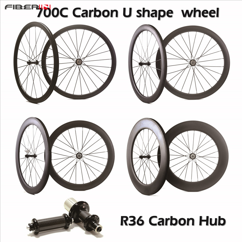 Carbon Bicycle Wheelset 700C 25mm Wide 38mm 50mm 60mm 88mm R36 Hub Road Bike Basalt Brake