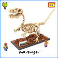 Mr.Froger LOZ Velociraptor Diamond Block Creator Series Dinosaur Fossil Building Blocks Classic Toys Animal Models Kids Gifts