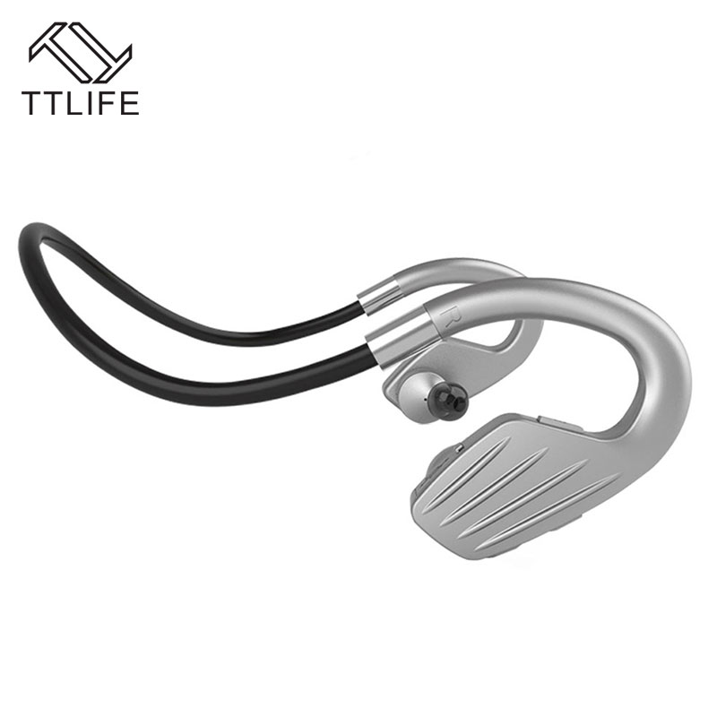 TTLIFE Smart Bluetooth 4.1 Earphone Wireless outdoor sport Headphone Portable handfree Headset with Mic for iPhone Android Phone ttlife bluetooth earphone