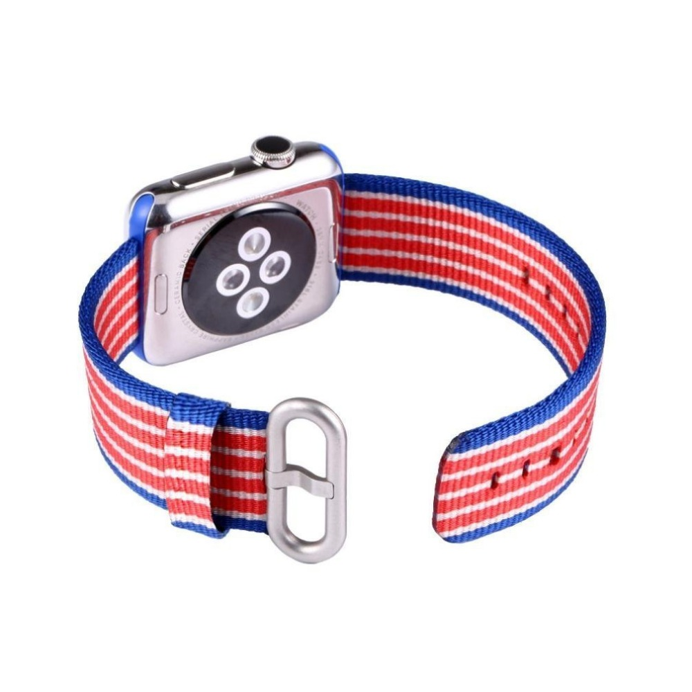New Arrival Woven Nylon Strap for Apple Watch Band with Built in Adaptor