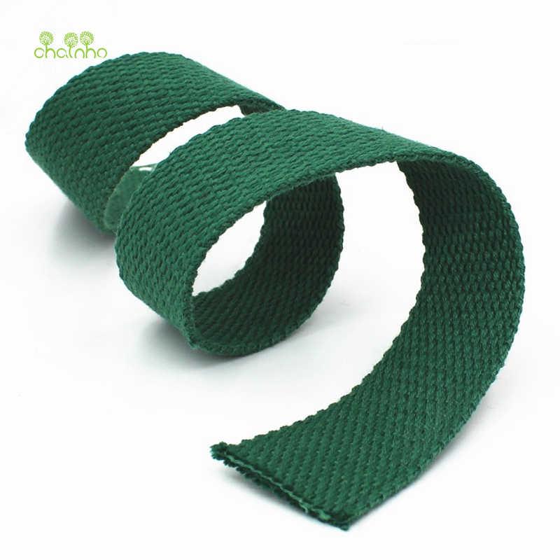 Chainho, 5Y/Lot, Breite 38mm, Einfarbig Rucksack Strap, Hohe Zähigkeit, polyester/Baumwolle Leinwand Gurte, DIY Für Taschen Kleider, Schuhe