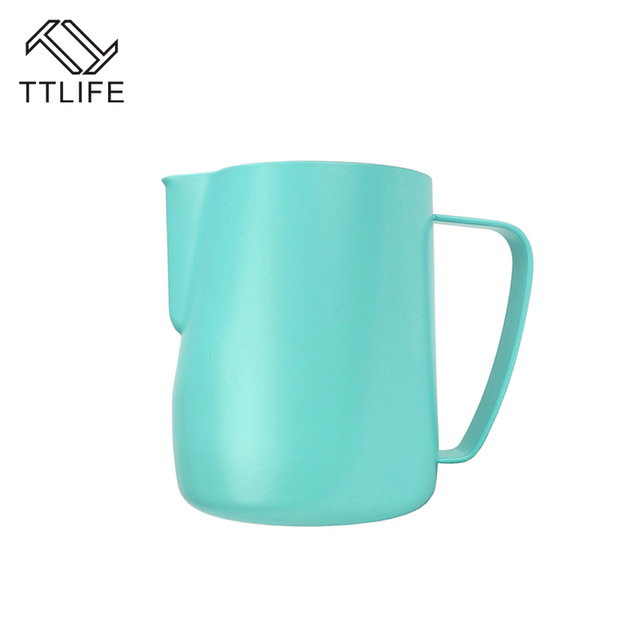 TTLIFE Milk Jug 10-20 OZL Stainless Steel Frothing Pitcher 3