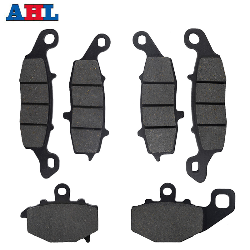Motorcycle Front Rear <font><b>Brake</b></font> Pads <font><b>Discs</b></font> Kit For <font><b>KAWASAKI</b></font> ER6F EX650 ER6N ER650 2006-2011 KLE650 Versys 2007-2011 Z750S ZR750 image