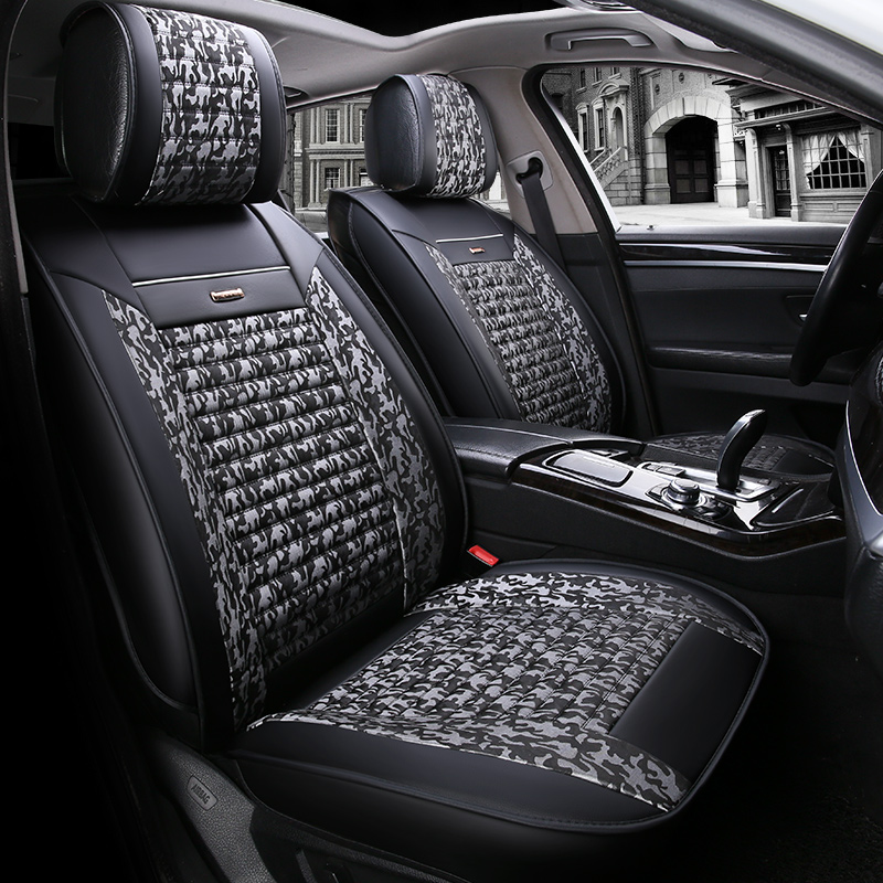 Car seat covers fit Rover 75 black//red  leatherette full set