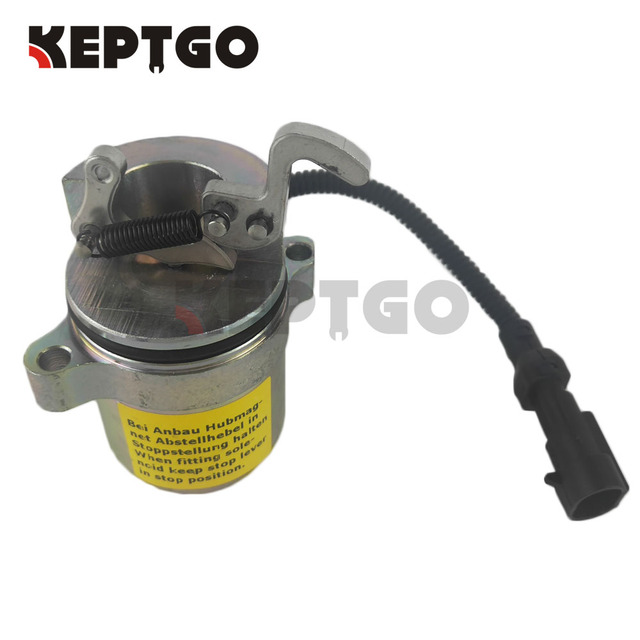 US $46 99 |Fuel ShutOff Solenoid For Bobcat 863 864 873 883 Skid Steer  Deutz 04272956 12V-in Generator Parts & Accessories from Home Improvement  on