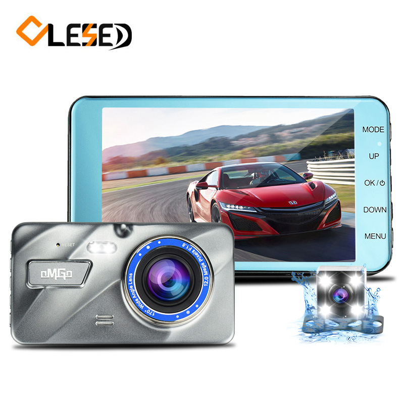 4 0 IPS Dual Lens Car DVR Auto Camera Cars Dvrs Dash Cam Camcorder FHD1080P Recorder