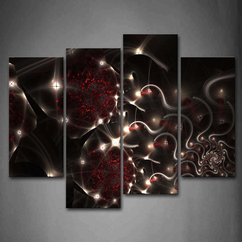 Black And Red Wall Art online buy wholesale black white red wall art from china black