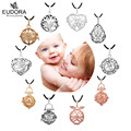 Floating Baby Locket Fit For 18/20mm Eudora Harmony Ball Pendant Multiple Design For Women With Free Wax Leather Necklace Chains