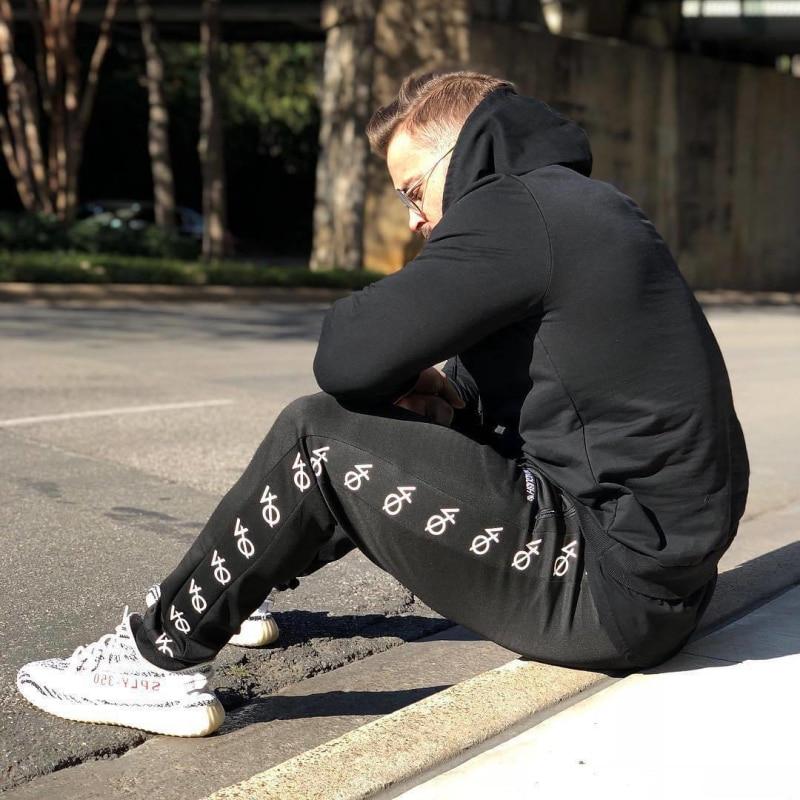 fashion men set fitness hoodies-2