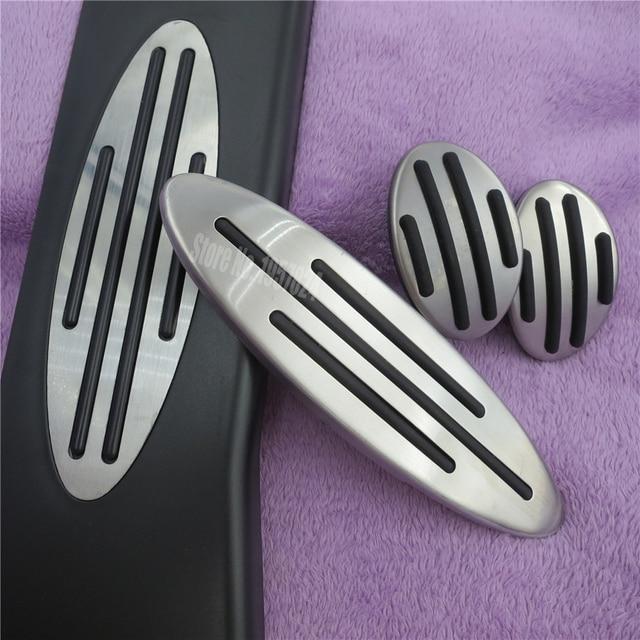 DEE Gas Fuel Brake Clutch Footrest MT Pedal Pad For MINI Cooper One Hatch Hardtop Countryman JCW R56 R60 R61 F54 F55 F56