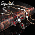 Special New Fashion Gold-plated Maxi Necklaces & Pendants Cross Natural Pearl Vintage Statement Jewelry Gifts for Women S1605N