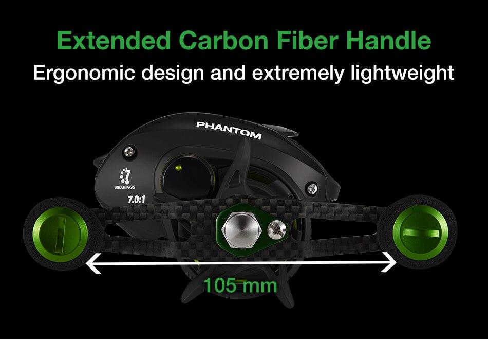 7 rolamentos freio duplo fibra carbono ultraleve