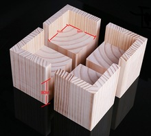 4PCS/LOT  Internal Size: 6x6cm Increase: 3cm Sofa Bed Table Legs Pad Chair Cabinet Feet Heightening Solid Wood