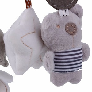 Image 3 - Baby Rattles Toys Plush Baby Toys 0 12 Months Soft Animal Musical Rattle Stroller Toys for Baby Mobile Newborn Bed Cart