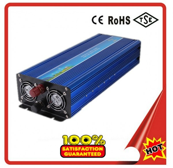 Onduleur à onde sinusoïdale Pure 5000 W 12 V/24 V/48vdc à 120/230VAC 50 HZ/60 HZ