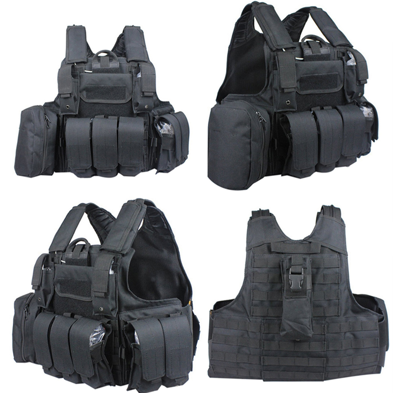 CIRAS Molle army tactical carrier vests 800D Oxford cloth Paintball airsoft vest artigos militares colete militar modular weste airsoft adults cs field game skeleton warrior skull paintball mask