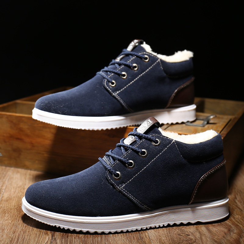 96caeb2fd495a AGUTZM 2018 Men's Shoes Winter Warm Men Shoes Casual Male Loafers Casual  Footwear Winter Autumn Men's Sneakers Breathable Shoes-in Men's Casual Shoes  from ...