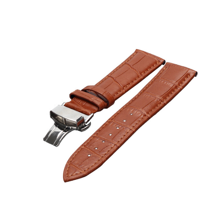 12/14/16/18/20/22mm Watch Band Strap Cow Leather Replacement Watchband For Men Women
