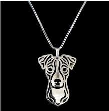 Ожерелье с подвеской Джека Расселла терьера ювелирные изделия