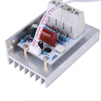 AC220V 10000 Вт Электрический регулятор высокой мощности SCR контроллер скорости управления двигателем QJ888