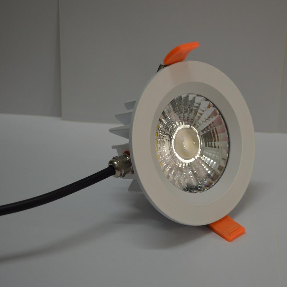 1pcs/lot ultra brightness cob LED waterproof downlight lamp IP65 bathroom light 5W 7W 9W 12W 15W 20w ledceiling
