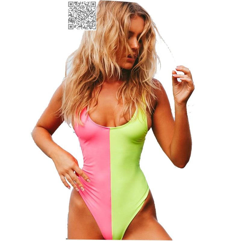 Seksi jednodijelni kupaći kostim za jednoslojne ženske cipele u - Sportska odjeća i pribor