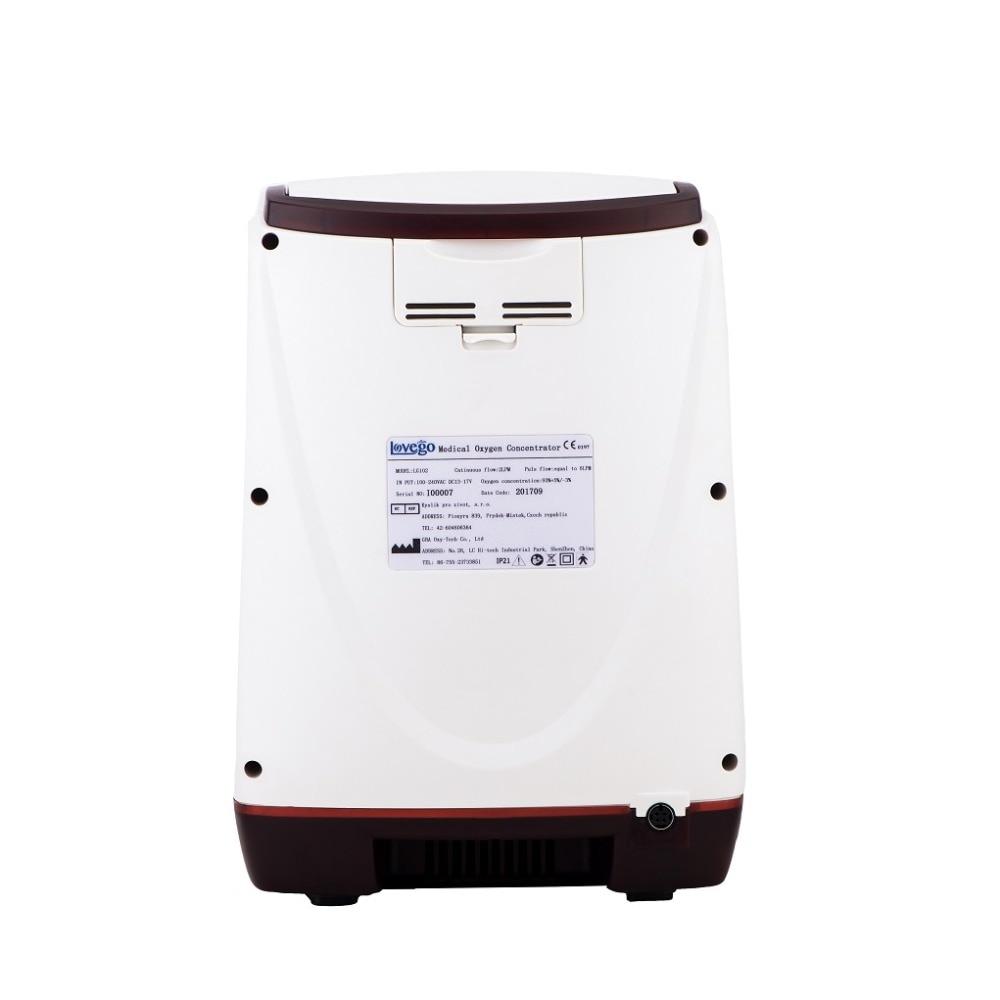Lovego G2 Tragbare Sauerstoff Konzentrator medizinische grade für COPD, Asthma, Lungen Fibrose lebenslauf 3 tage versand