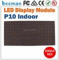 2018 2017 Leeman P10 привели крытый модуль полу-открытый красный цвет кроссовки письмо светодиодный дисплей модуль панели billboard текст