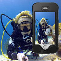 For IPhone 5s Case Luxury 10M Waterproof Shockproof Germany PET Can Be Touched Cover Cases For