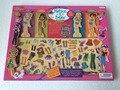 Бесплатная Доставка! Детские Игрушки Моды-Художественной Платье Изменение Магнитная Головоломка Деревянные Головоломки Ребенок Развивающие Игрушки подарок