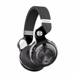 Bluedio T2+ Wireless Bluetooth V5.0 Stereo Headphone sd card&FM radio Headset with Mic High Bass Sounds mic APP(China)