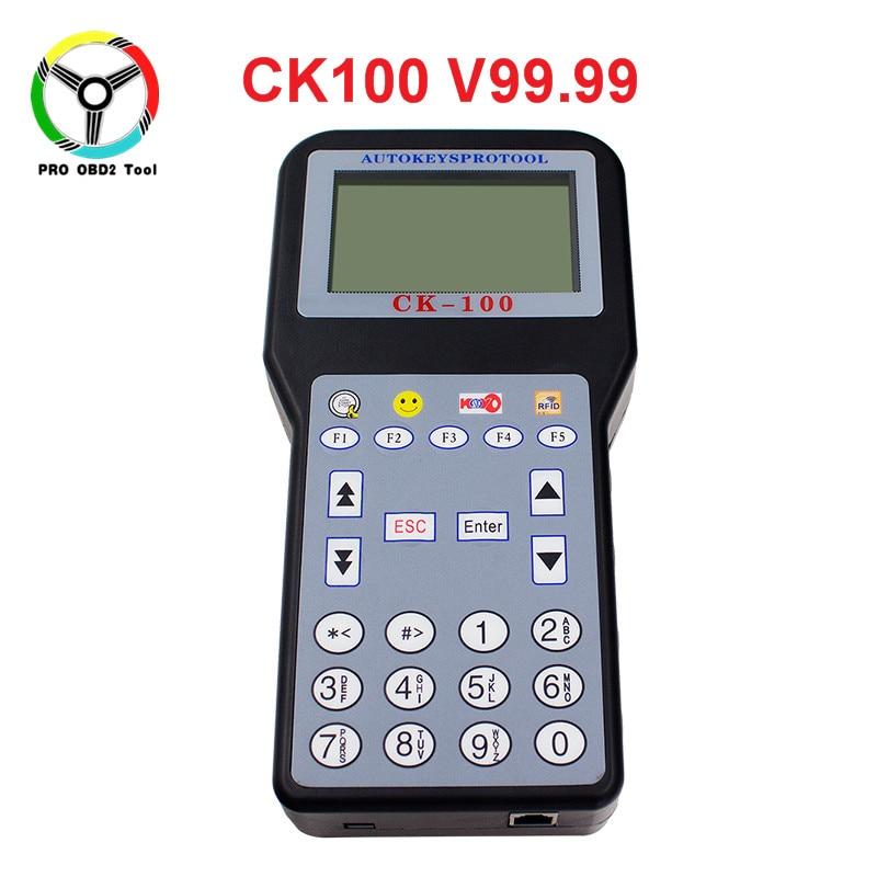 Newly CK100 v99.99 auto key programmer with 1024 tokens key transponder ck-100 ck 100 key pro multi-brands car & multi-language xtool x100 pro auto key programmer