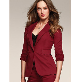 New New Style female long-sleeve suit pants slim business ladies Suit One buttons (jacket+pants) custom made