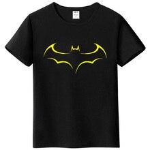 Men's Casual High Quality 100% Cotton Funny Batman Print T-Shirt