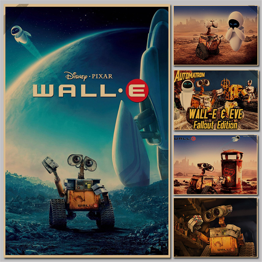 online get cheap wall decoration items aliexpress com alibaba group 2016 real vintage decor retro paper movie poster wall e eve wholesale posters home decoration painting items p067