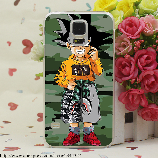 Dragon Balls Z Goku Case Cover for Galaxy